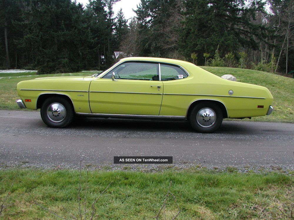 1971 plymouth duster slant 6 runs and drives great estate car barn find. Black Bedroom Furniture Sets. Home Design Ideas