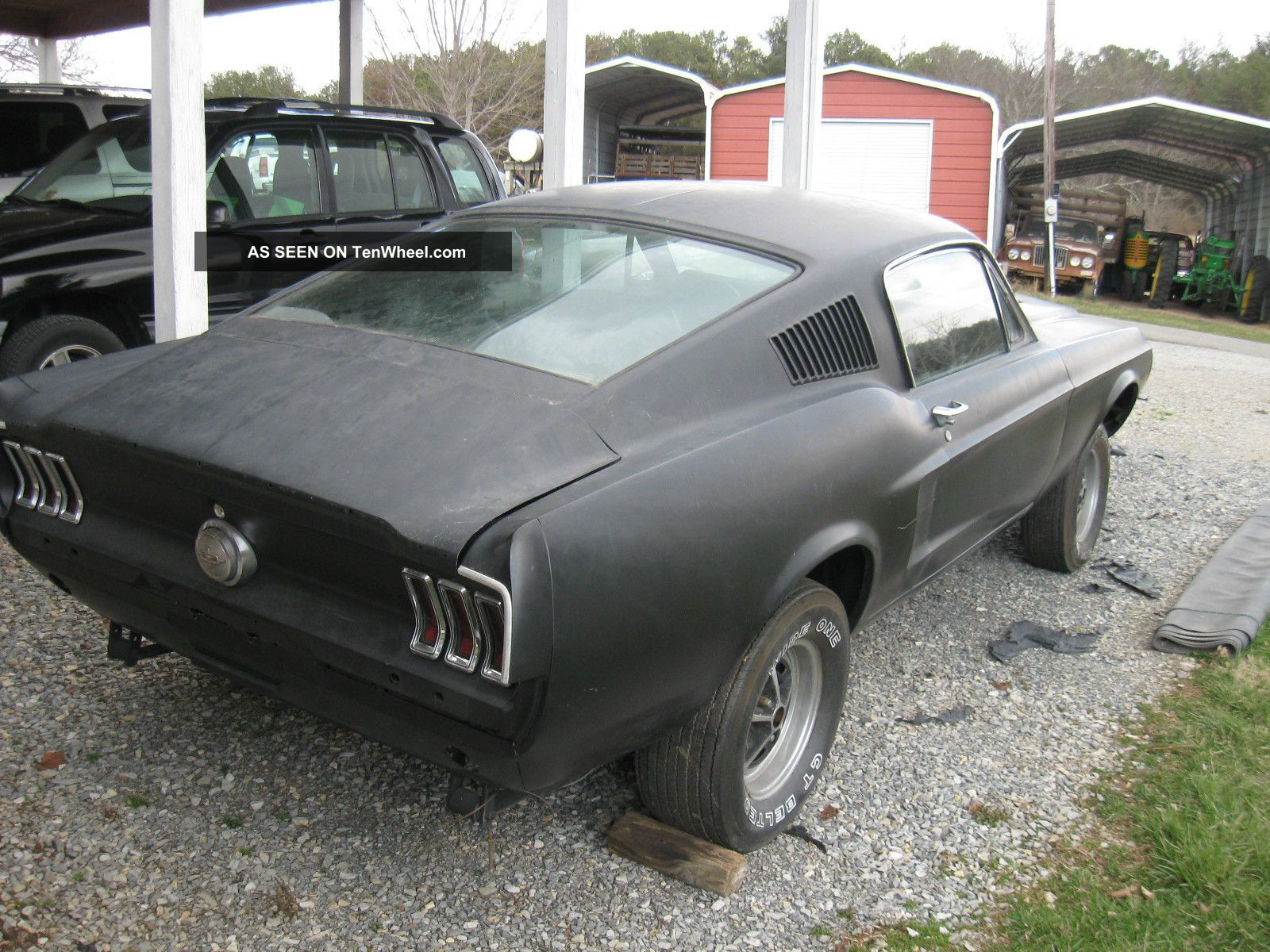 1968 Gt - 500 Shelby Fastback Mustang Clone Project 68 Mustang photo 1