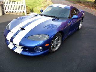 1997 Dodge Viper Gts - Blue / White Stripes - The Icon photo