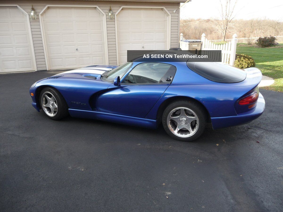 viper dodge icon gts stripes 1997 enlarge