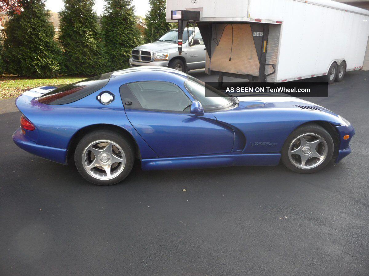 2012 Dodge Avenger Owners Manual >> 1997 Dodge Viper Gts - Blue / White Stripes - The Icon