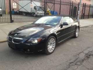 2005 Bmw 645ci Base Convertible 2 - Door 4.  4l photo