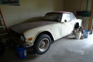 1969 Triumph Tr 6 Hardtop photo