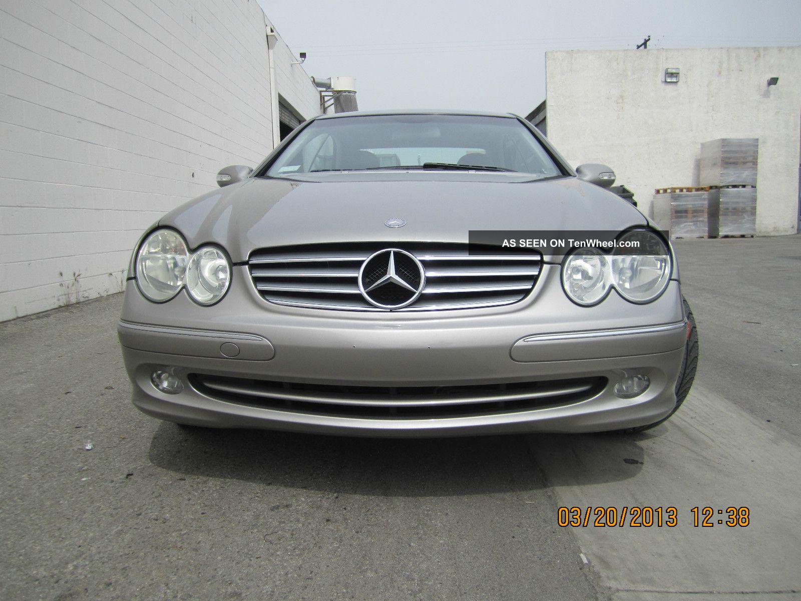 2004 Mercedes Benz Clk320 Base Coupe 2 Door 3. 2l CLK Class photo #655C47