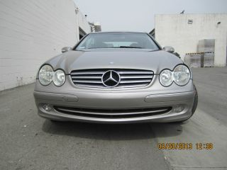 2004 Mercedes - Benz Clk320 Base Coupe 2 - Door 3.  2l photo