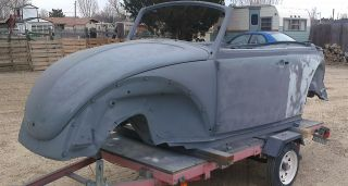 1970 Vw Convertible Classic Beetle Restoration Project photo