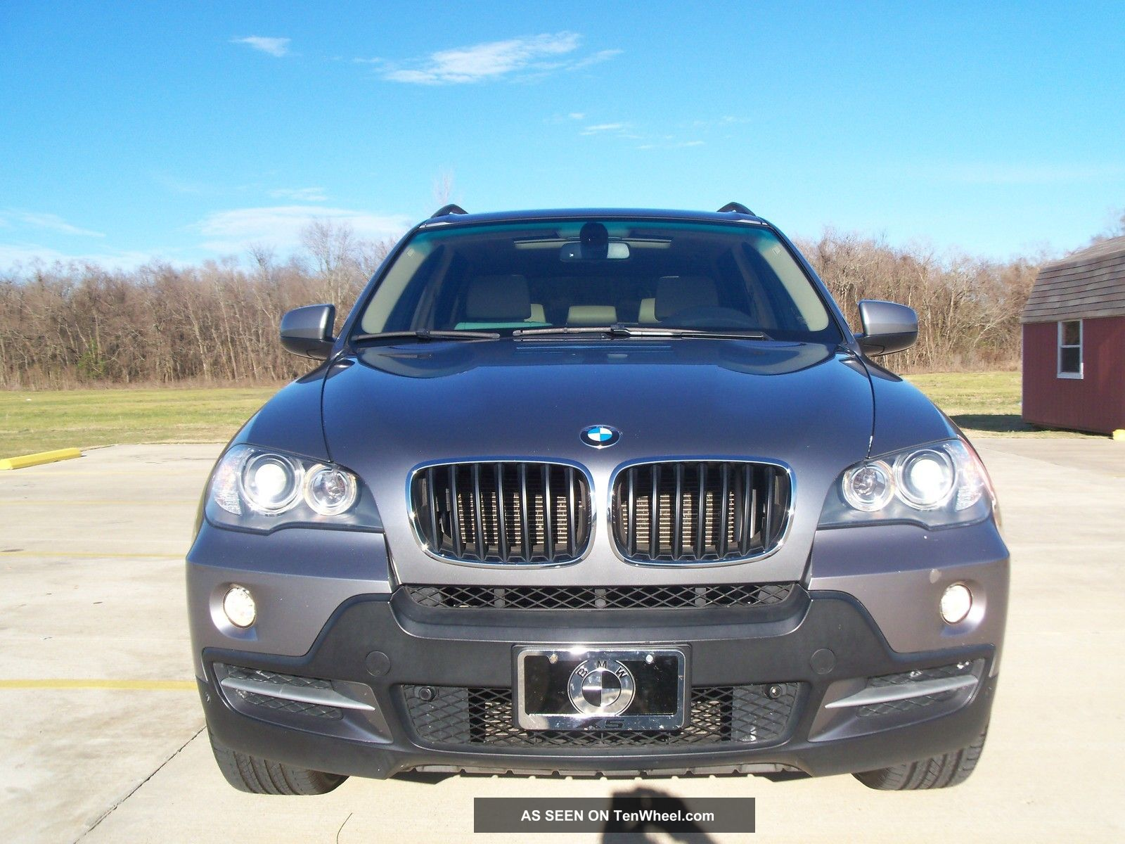 2007 bmw x5 3 0si panoramic 86k 3rd row rear dvd. Black Bedroom Furniture Sets. Home Design Ideas