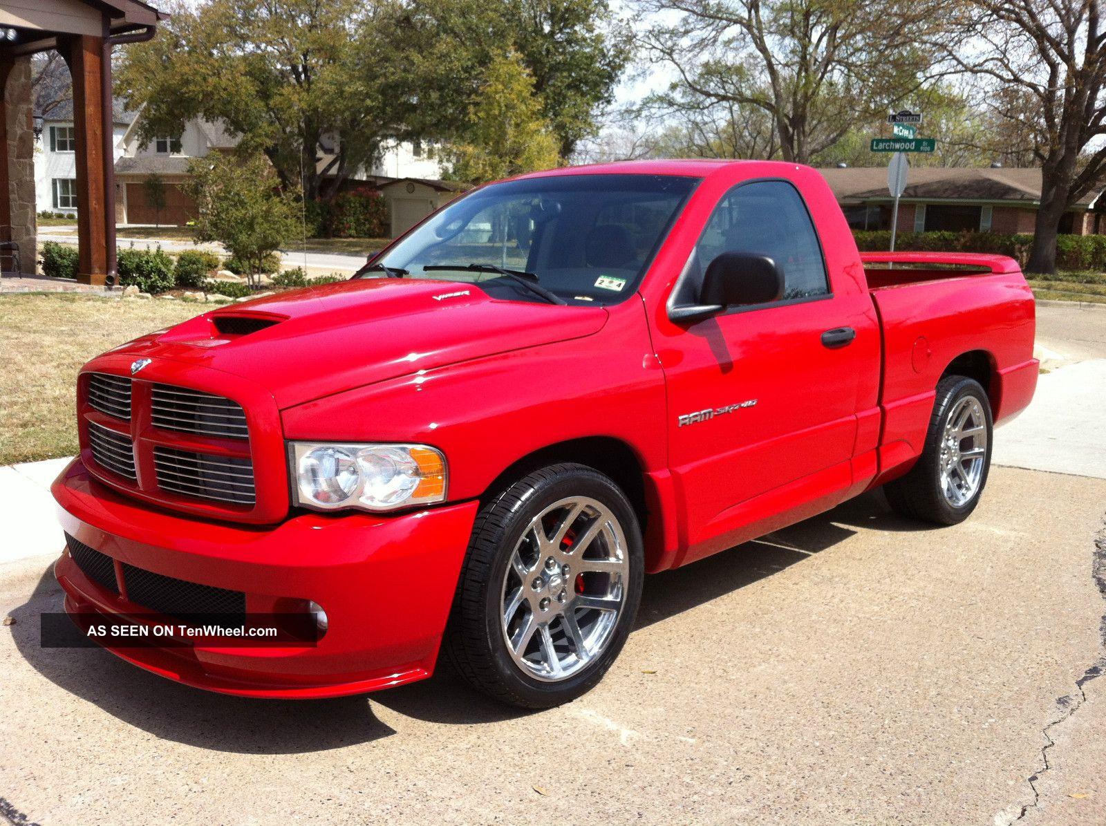 2004 dodge ram 1500 srt 10 standard cab pickup 2 door 8 3l. Black Bedroom Furniture Sets. Home Design Ideas