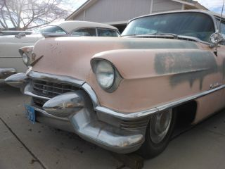 1955 Cadillac Coupe Deville Series 62,  Rat Rod,  Lowrider,  Custom,  Low Rod,  Classic, photo
