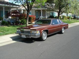 1979 Cadillac D ' Elegance Coupe Deville Paint And Top photo