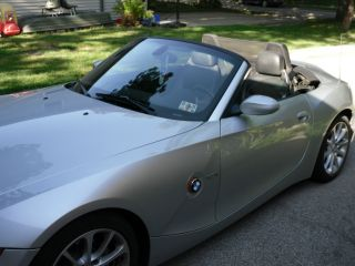 2003 Bmw Z4 3.  0i Convertible 2 - Door 3.  0l photo