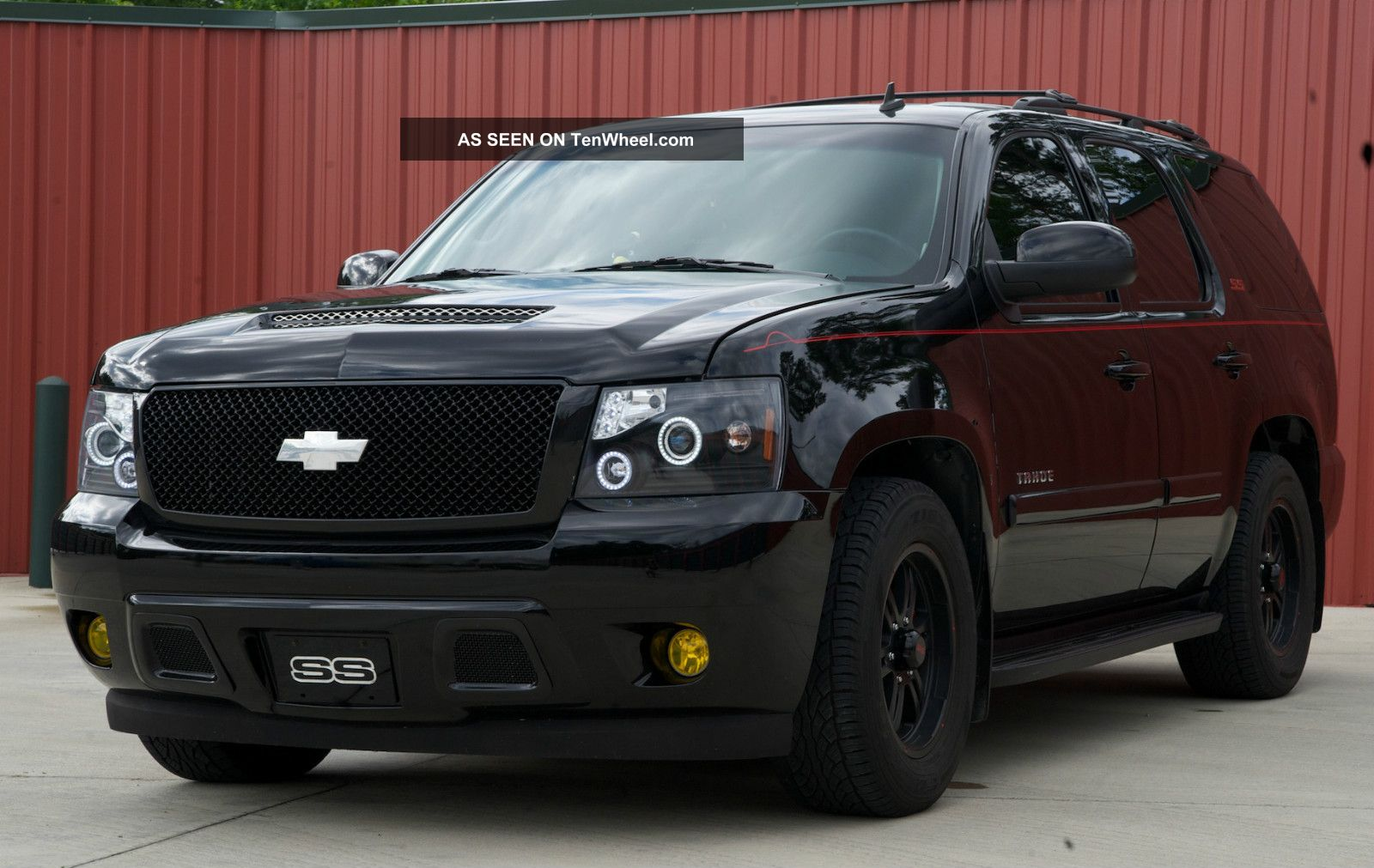 2009 chevy tahoe ss conversion. Black Bedroom Furniture Sets. Home Design Ideas