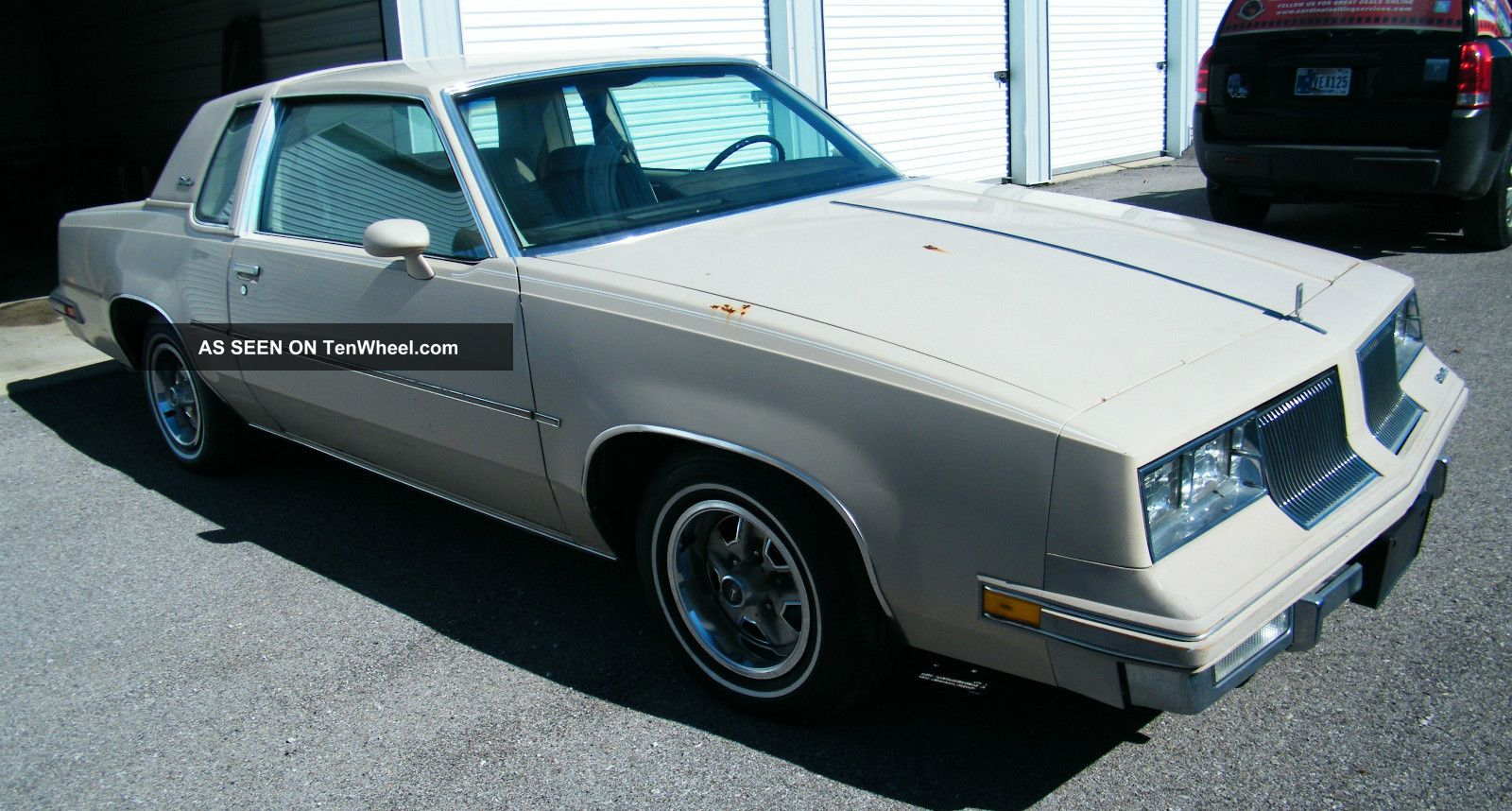 1981 oldsmobile cutlass supreme v6 2 door 4 4l beige good running car tenwheel