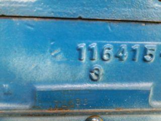 Rebuilt 1947 Kb Blue Diamond Engine photo