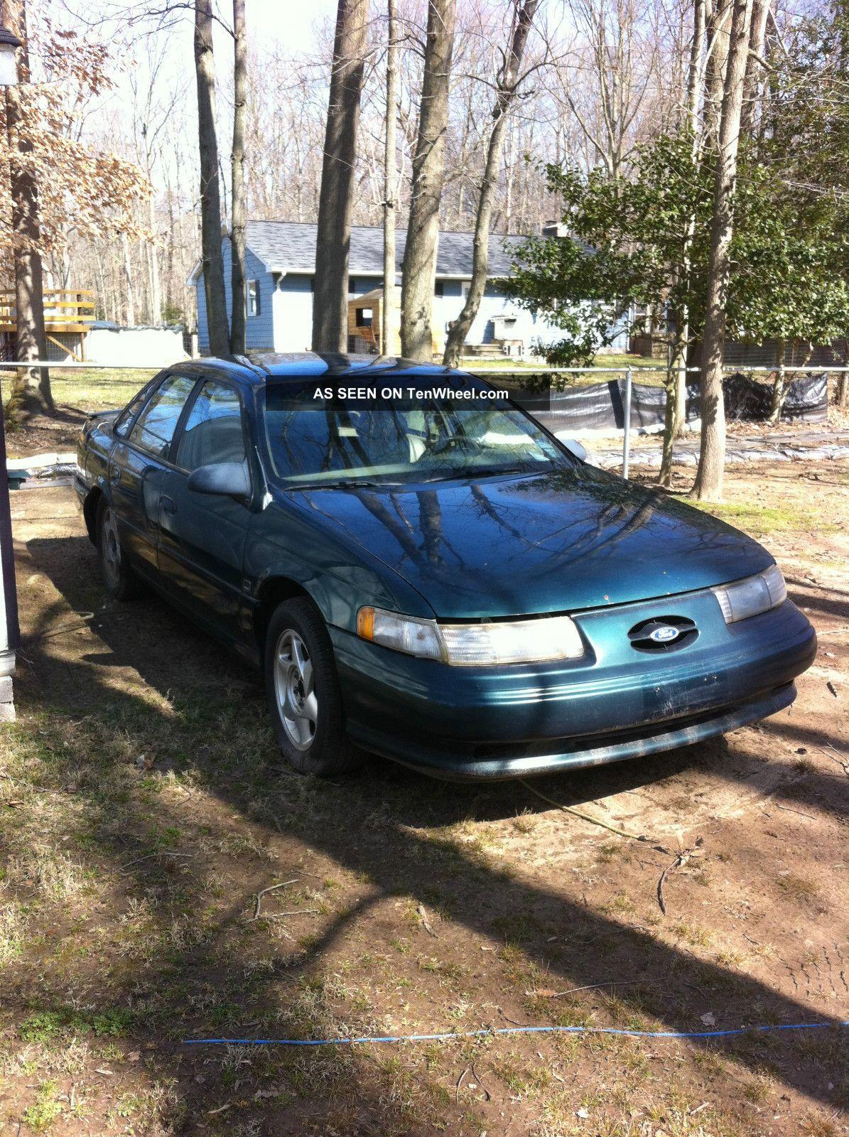 1993 ford taurus sho sedan 4 door 3 2l 1994 3 0 engine manual 2 rh tenwheel com 1997 Ford Taurus 1994 Ford Taurus