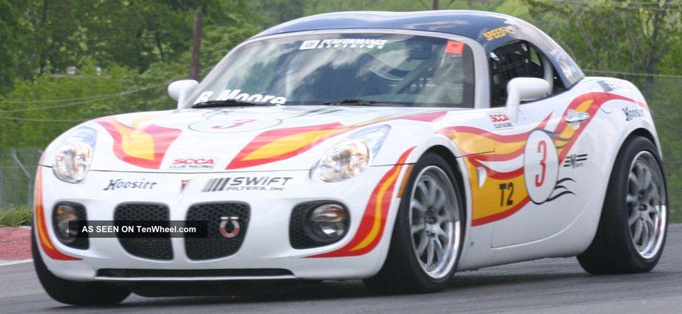 2008 Solstice Gxp / Zok Race Car / Street Legal - Nasa,  Scca T2,  Bmw / Porsche De Solstice photo