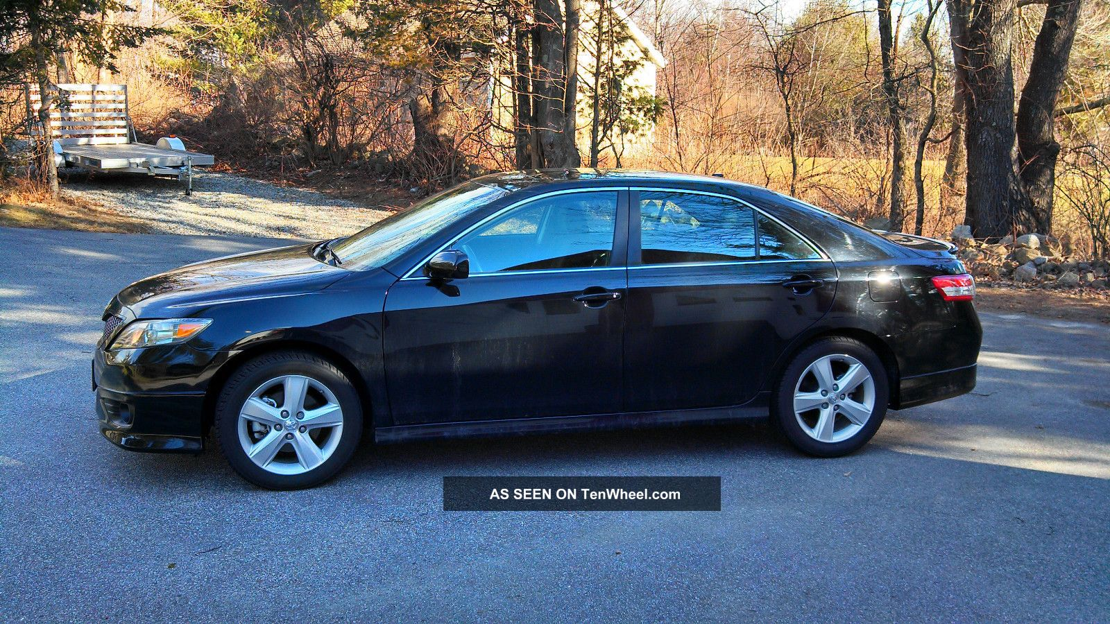 2011 Toyota Camry Se Sedan 4 Door 2 5l 6 Speed Manual