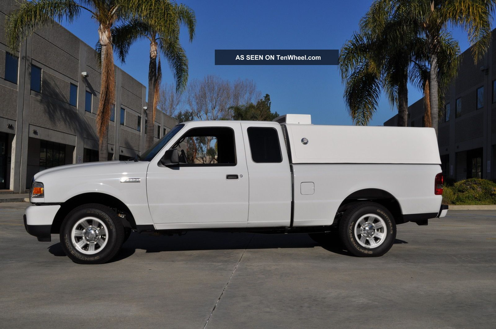 2011 Ford Ranger Extended Cab Refrigerator Truck Catering