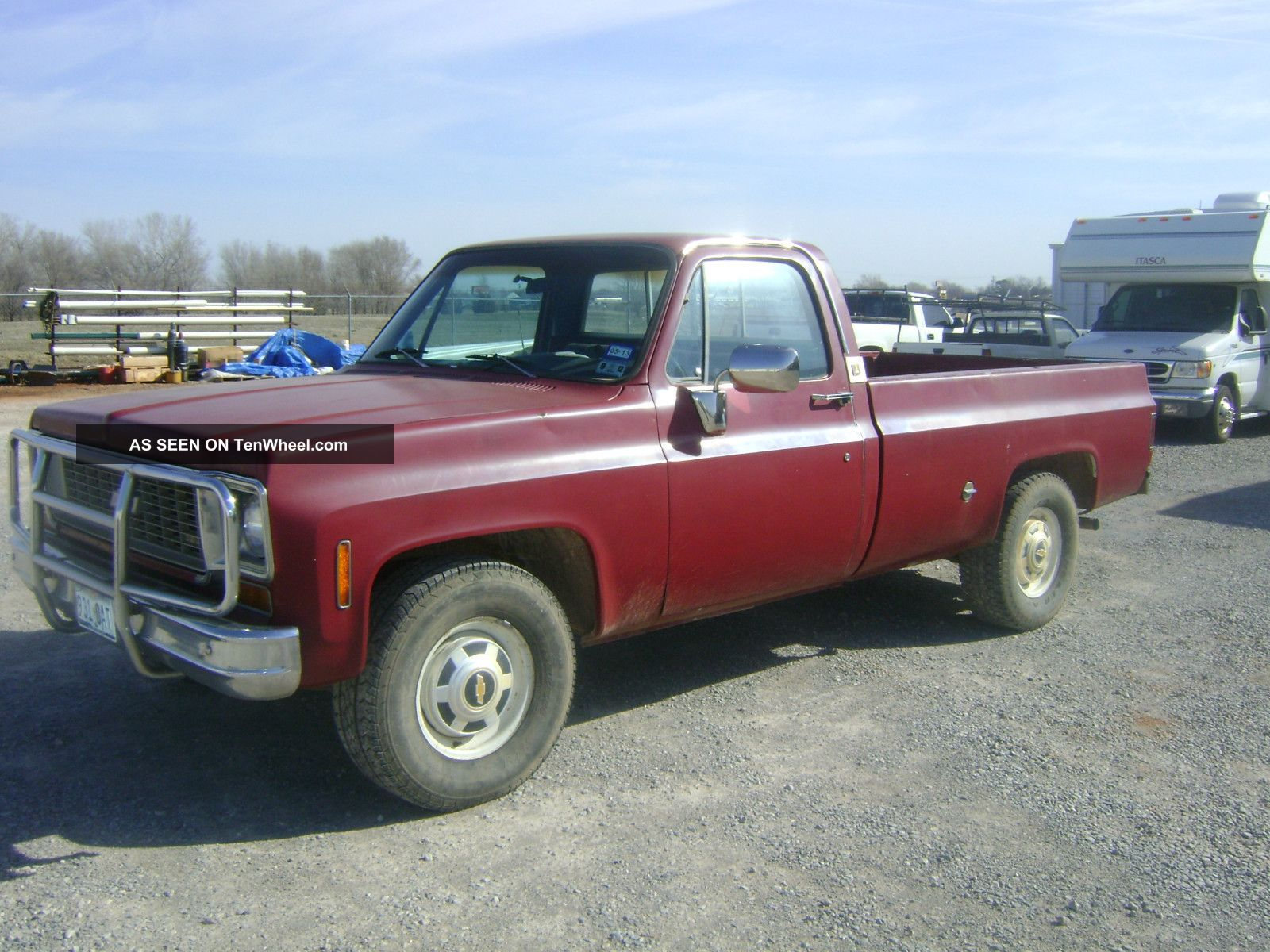 1974 chevy pk 3 4 ton. Black Bedroom Furniture Sets. Home Design Ideas