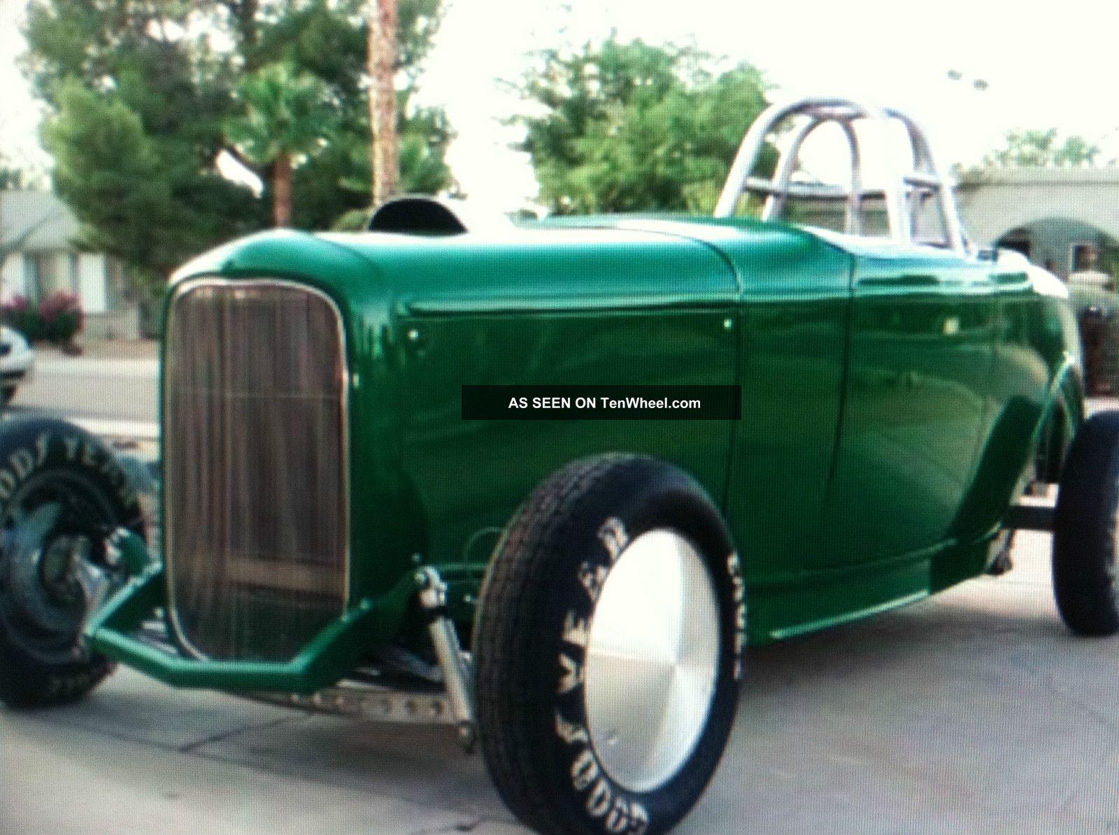 1932 Steel Ford Roadster Project Car, Street Cruiser / Salt Flats W ...