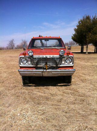 1977 Dodge W200 Power Wagon Snow Comander photo