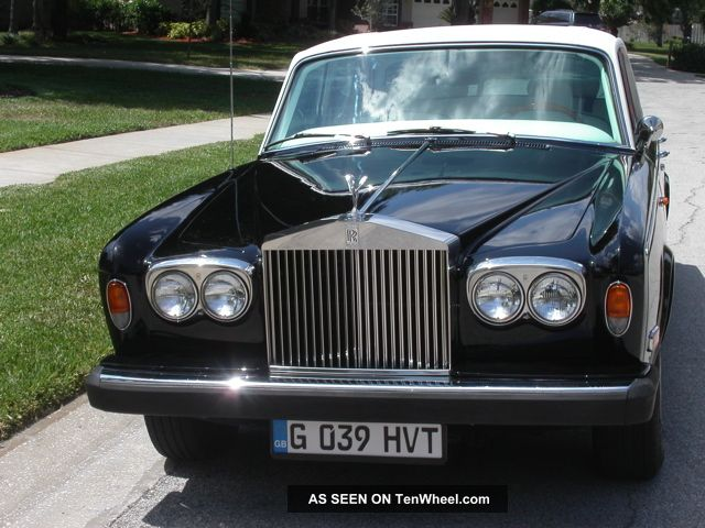 1975 Rolls - Royce Silver Shadow:, ,  Updated Color Sch Silver Shadow photo