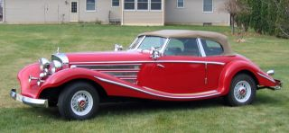1935 Mercedes 500 K Replica Car All - Steel Body 2 - Door Convertible Automatic photo