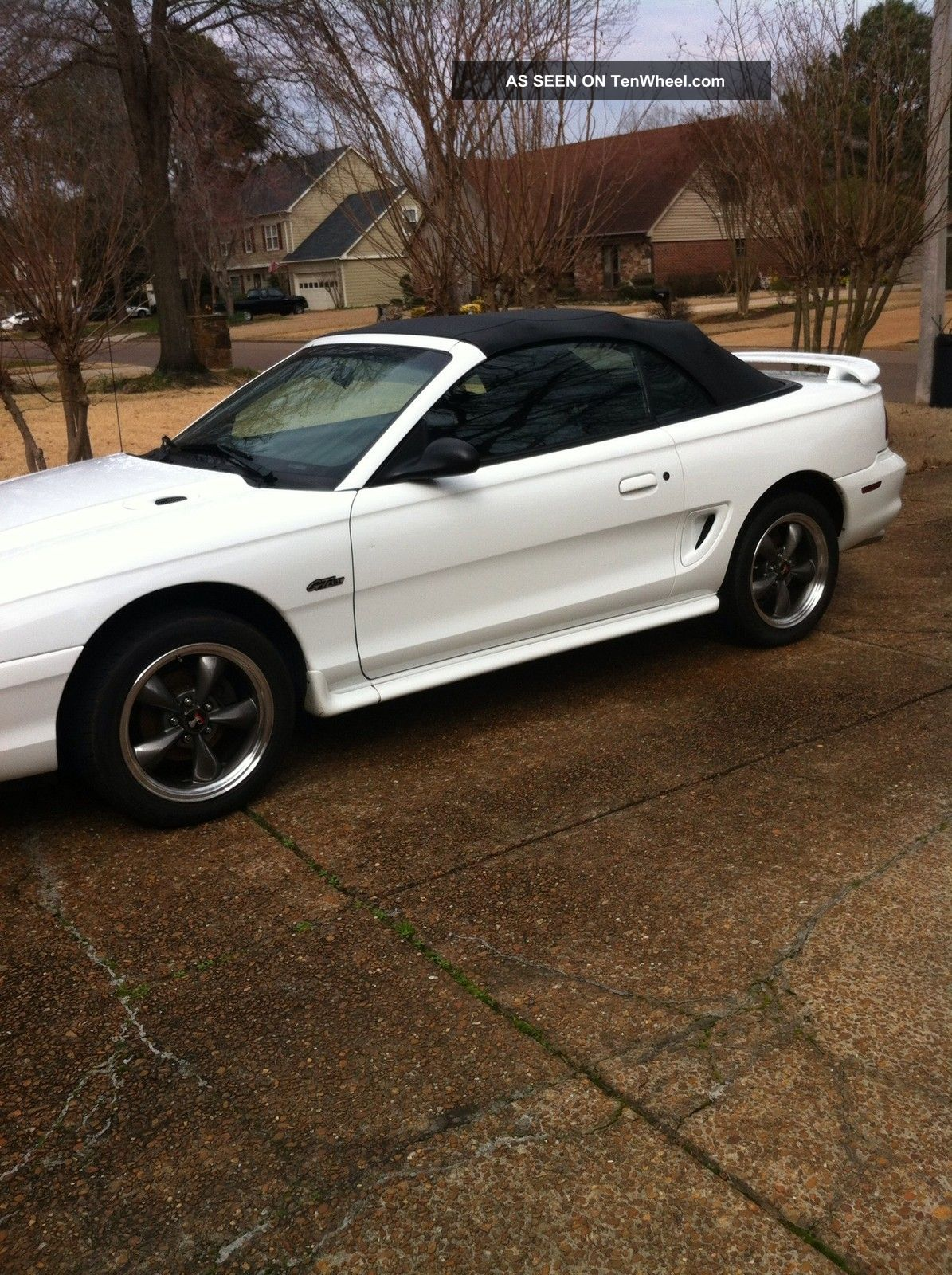 1997 Ford Mustang Gt Convertible 2 Door 4 6l