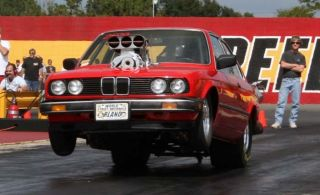 1984 Bmw Drag Car 509 Inch Big Block Chevy 10 - 71 Blown And Injected On Alcohol photo