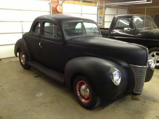 1940 Ford Coupe Deluxe Hotrod / Ratrod photo