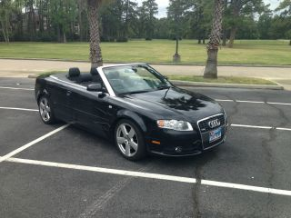 2007 Audi A4 Cabriolet S - Line Quatto Black On Black photo