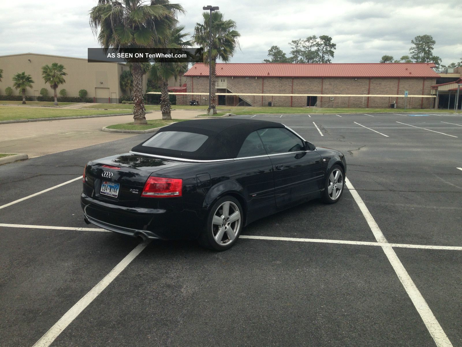 2007 Audi A4 Cabriolet S Line Quatto Black On Black