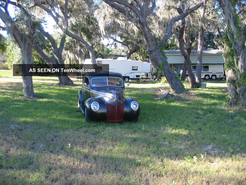 1939 Ford Sedan Street Rod,  Hot Rod,  Air Ride,  Vintage,  Project Rat Rod Flathead Other photo
