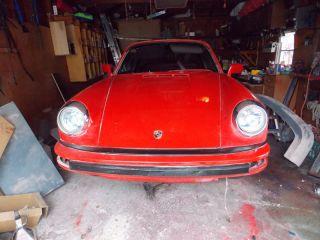 Porsche 911 Targe Project Car 1984 photo