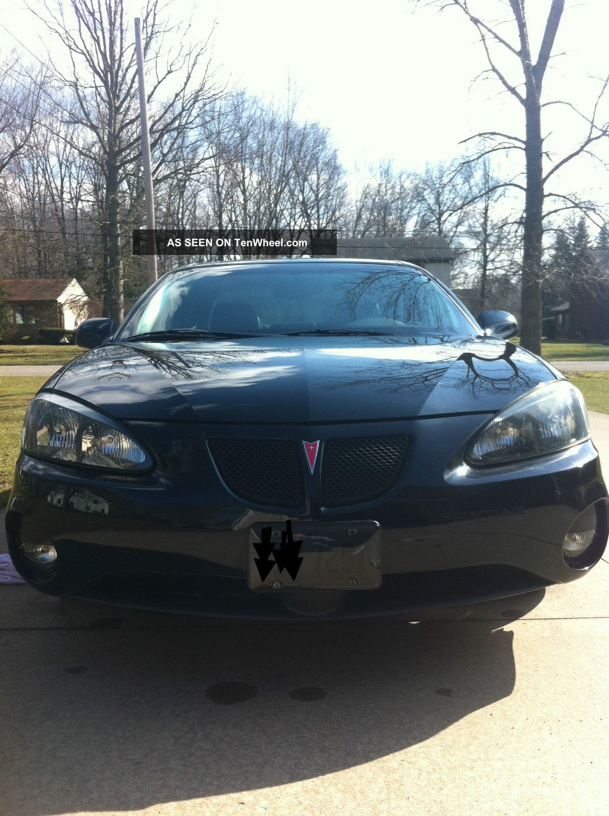 2006 Pontiac Grand Prix Gt Sedan 4 Door 3 8l