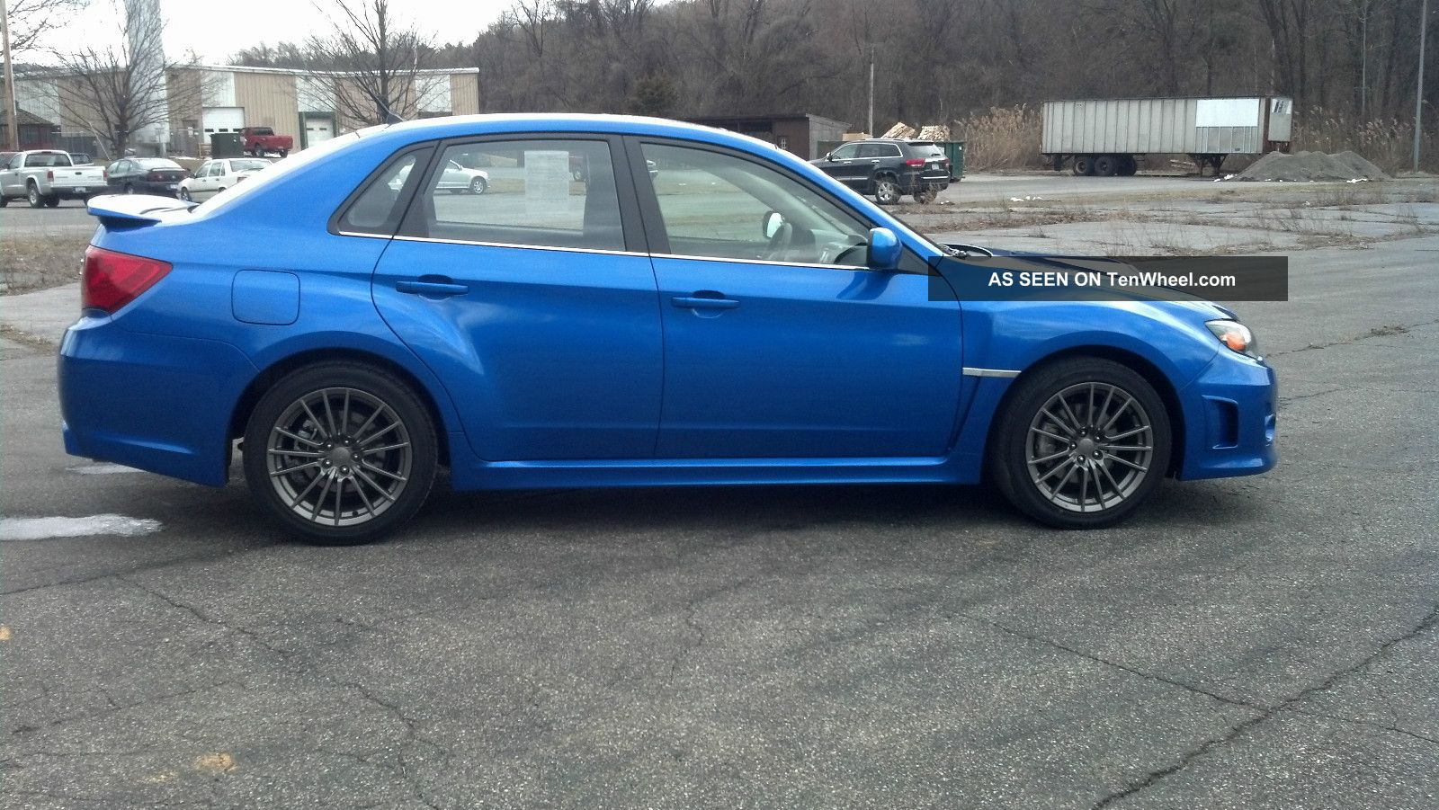 2011 subaru impreza wrx premium sedan 4 door 2 5l wheels fog lamps. Black Bedroom Furniture Sets. Home Design Ideas