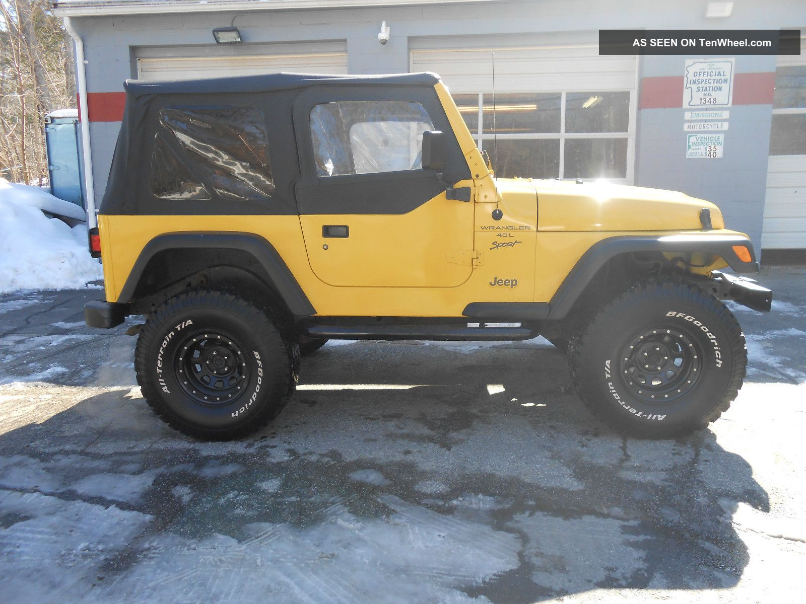 Jeep Wrangler 4 Door Lifted Yellow 2001 jeep wrangler sport sportJeep Wrangler 4 Door Lifted