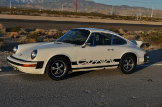 1975 Classic 911s Factory A / C Excellent Cond.  Fuchs Carrera Rs Style photo