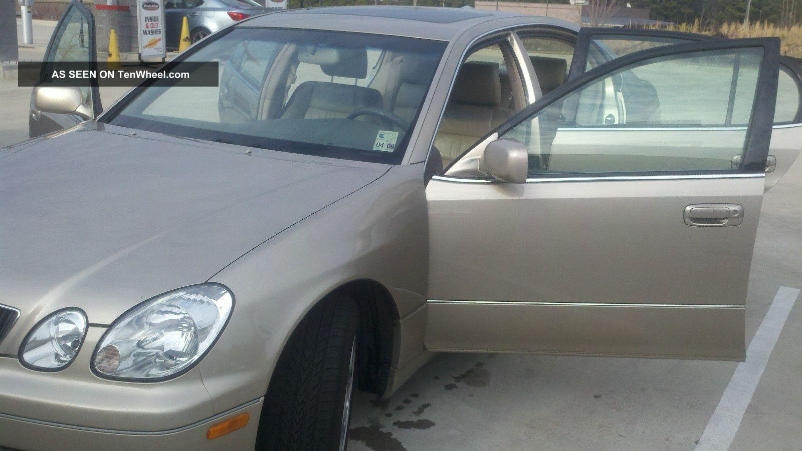 1999 Lexus Gs300 Base Sedan 4 - Door 3.  0l GS photo
