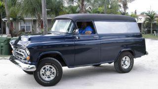 1955 Chevrolet Panel Truck photo