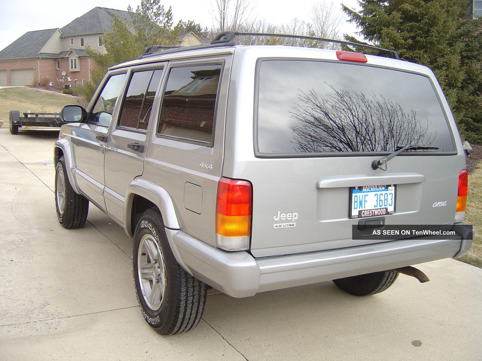 2000 jeep cherokee classic sport utility 4 door 4 0l cherokee photo