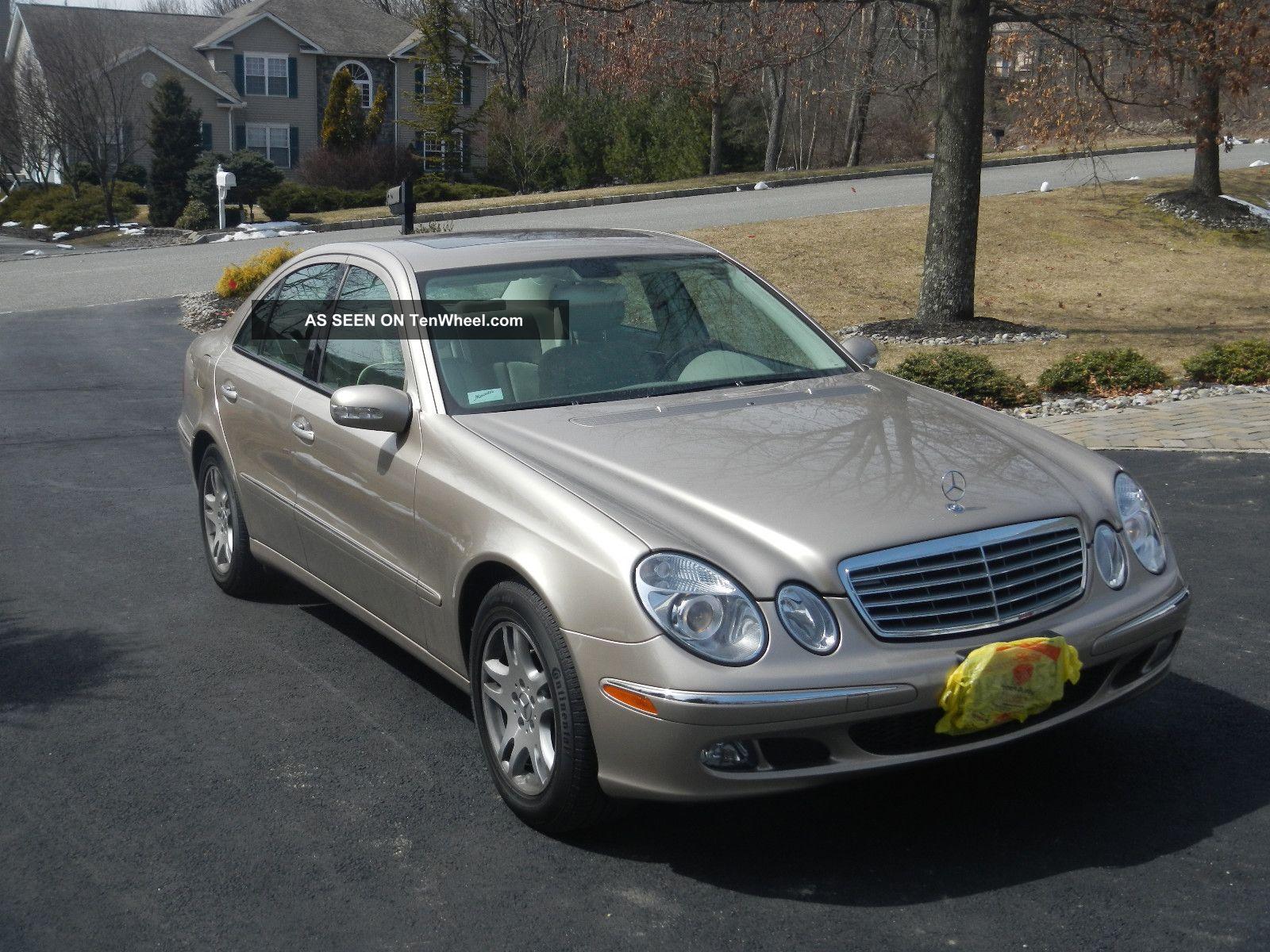 2005 mercedes benz e320 cdi sedan 4 door 3 2l for Mercedes benz e320