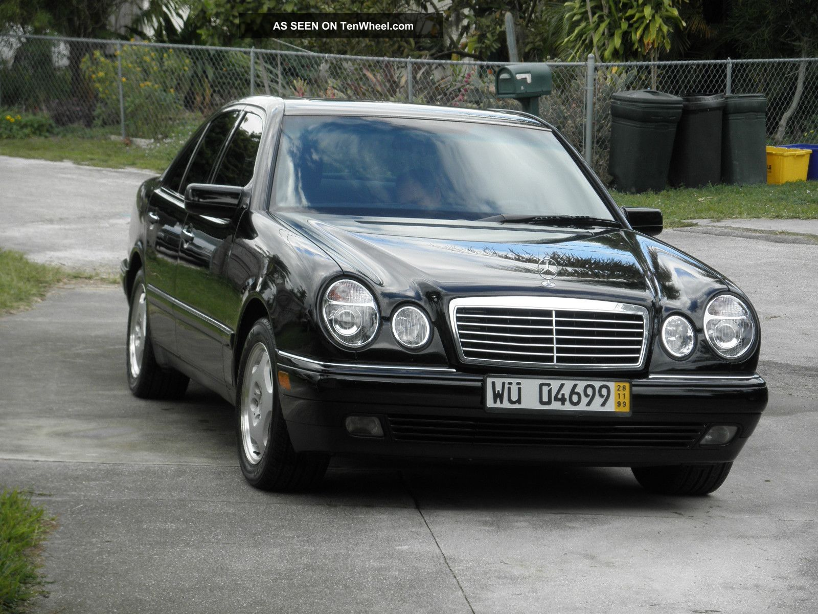 1997 Mercedes Benz E420 Base Sedan 4 Door 4 2l