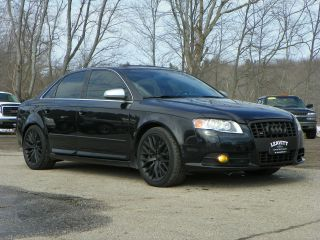 2007 Audi S4 Sedan 4.  2l Pes Supercharger 6 - Speed Manual Black On Black photo