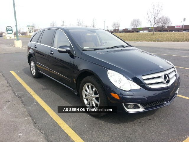 2006 mercedes benz r500 luxury package dvd rear a c for Mercedes benz r500