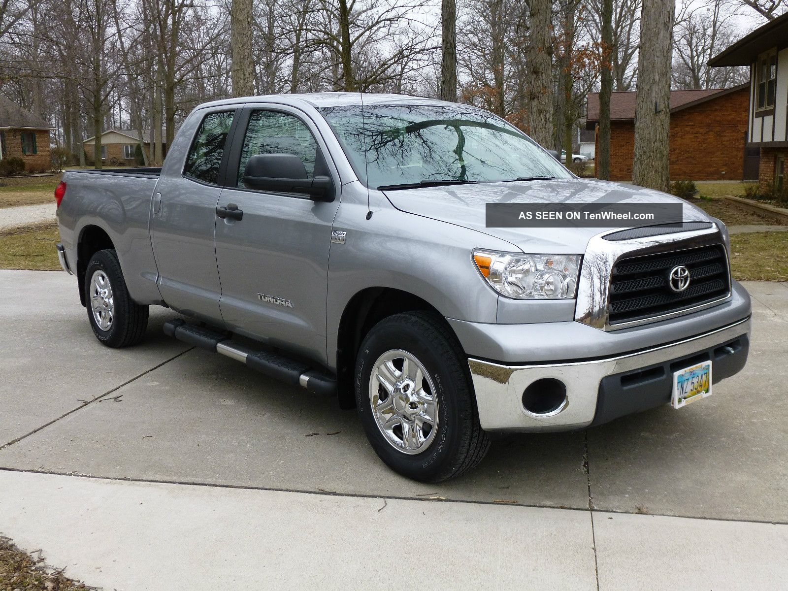 2008 toyota tundra base extended crew cab pickup 4 door 4 7l. Black Bedroom Furniture Sets. Home Design Ideas