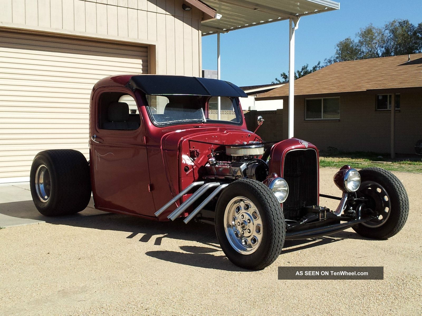 1939 Chevy Pickup Truck - Hot Street Rat Rod - Cool Lookin Truck Other Pickups photo