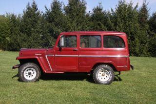 1961 Willy ' S Wagon 4x4 photo