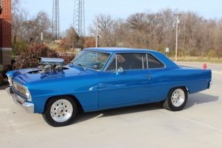 1966 Chevy Ii Nova,  Blown 355ci Sbc,  Mini Tub,  750+hp,  Show Paint And Body photo