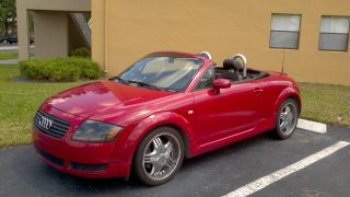 2002 Audi Tt Base Convertible 2 - Door 1.  8l photo